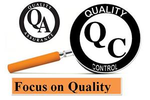 quality assurance control